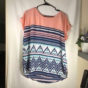 Rewind Shirt Short Sleeve Shirt Size XL